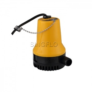 70L/min yellow bilge pump